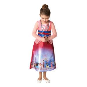 Prinsessan Mulan Barn Klänning - Large