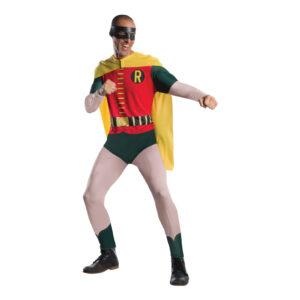 Robin Retro Maskeraddräkt - X-Large