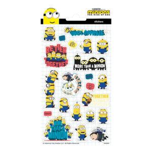 Stickers Glitter Minions
