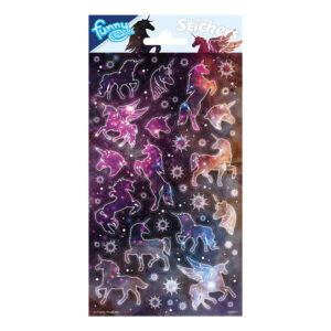 Stickers Glitter Unicorn
