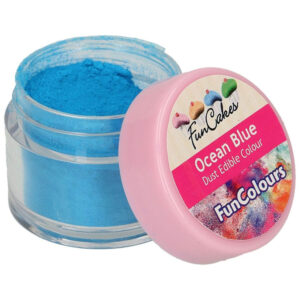 Ätbar Pulverfärg Ocean Blue