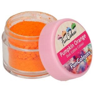 Ätbar Pulverfärg Pumpkin Orange
