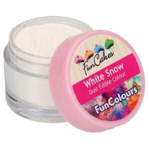 Ätbar Pulverfärg White Snow