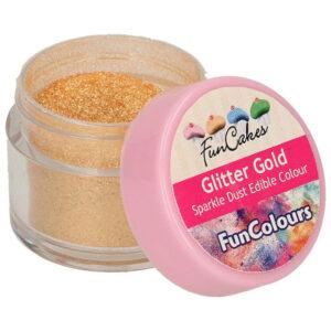 Ätbart Glitter Gold