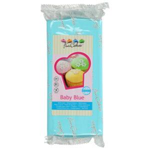 Babyblå Sockerpasta 1kg