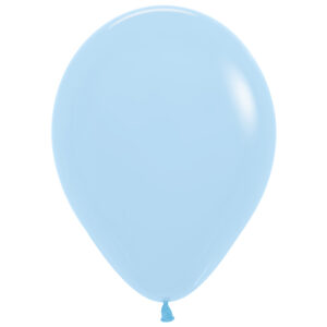Ballong lösvikt, pastellblå