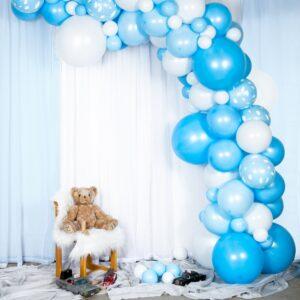 Ballongbåge Ljusblå