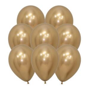 Ballonger, reflexguld 10 st