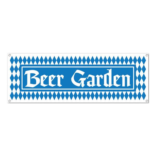 Banderoll Beer Garden