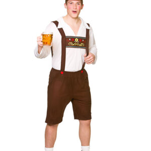 Bavarian Beer Guy Maskeraddräkt (Small)