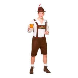 Bavarisk Ölkille Maskeraddräkt - Small