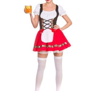 Beer Girl Dirndl Dräkt (X-Small (Stlr. 34-36))