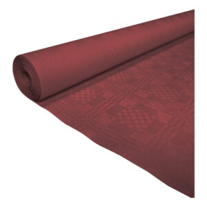 Bordsduk i Papp Vinröd - 119cmx8m
