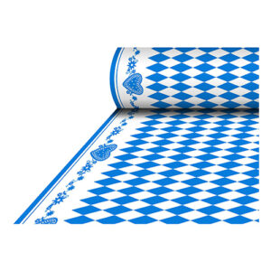 Bordsduk på Rulle Tygliknande Bayersk Blå