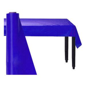 Bordsduk på Rulle Mörkblå