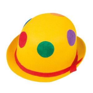 Clownhatt, prickig-Gul
