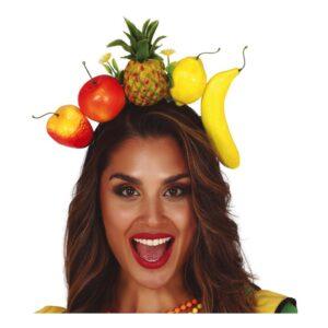 Diadem med Tropiska Frukter - One size