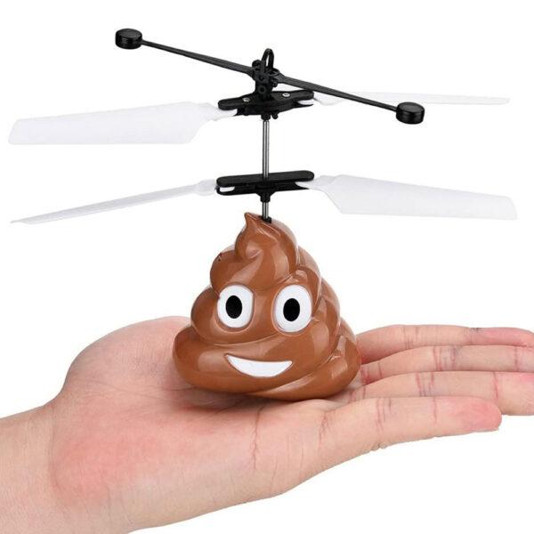 Emoji Poop Flygande Leksak