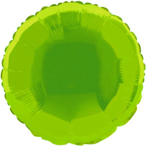 Folieballong Rund Mintgrön