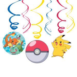 Hängande Pokemon Dekorationer