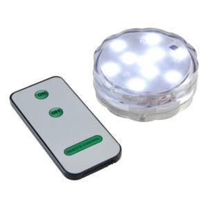 LED Undervattenlampa med Fjärrkontroll