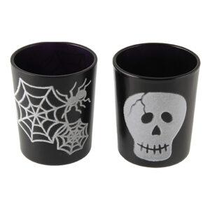 Ljushållare Svarta Halloween - 2-pack