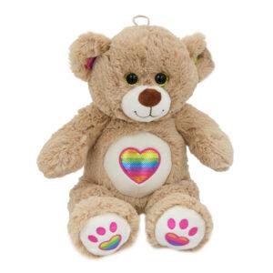 Nallebjörn med Regnbågshjärta