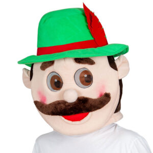 Oktoberfest Bavarian Maskotmask