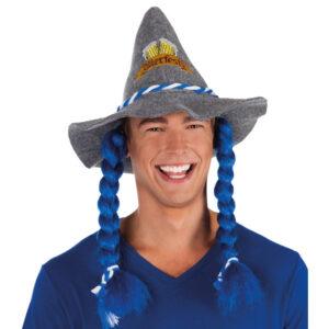 Oktoberfest Hatt med Flätor