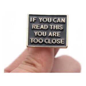Pin If You Can Read This...