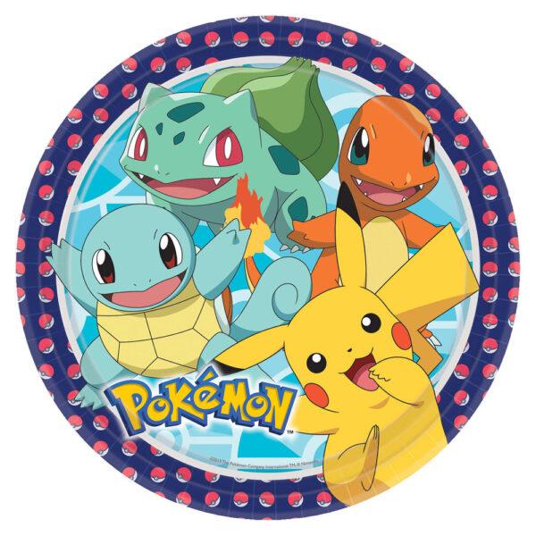 Pokemon Papptallrikar