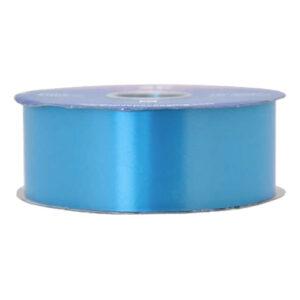 Satinband Azurblå