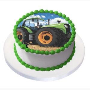 Tårtbild Traktor