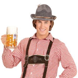 Tyrolerskjorta herr-XL