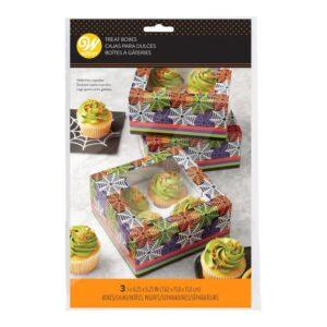 Wilton Cupcake Boxar Halloween - 3-pack