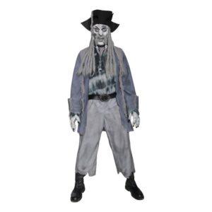 Zombie Pirat Maskeraddräkt - Medium
