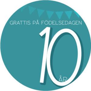 10år grön
