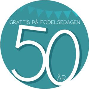 50 år grön