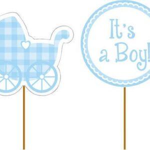 Baby Blue Cupcakepicks