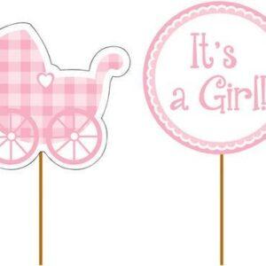 Baby Pink Cupcakepicks