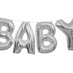 Ballonggirlang Baby Silver