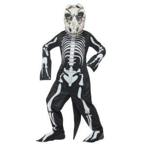 Barndräkt, T-rex-skelett -S