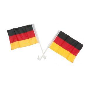 Bilflaggor Tyskland - 2-pack