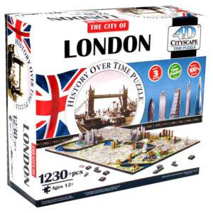 Cityscape 4D London Pussel