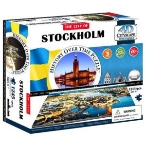 Cityscape 4D Stockholm Pussel