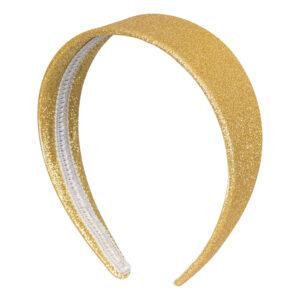 Diadem 50-tal Glitter Guld - One size