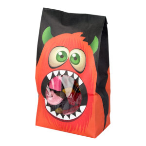 Godispåsar Halloweenmonster - 5-pack