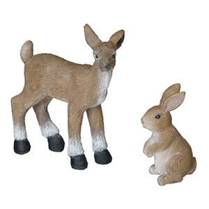 Juldekoration Hare & Ren - 2-pack