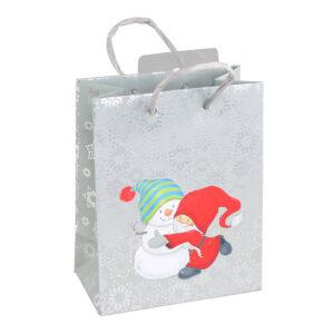 Julpåse Tomte med Snöflingor - 1-pack