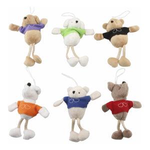Mjukisdjur med T-shirt - 1-pack
